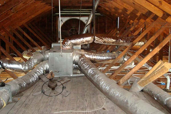 Spray Foam Duct Insulation Services | Attic Insulation & Air Sealing by First Defense Insulation